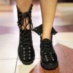 Black Polinski Boots