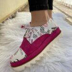 Pantofi Pink Mosaic