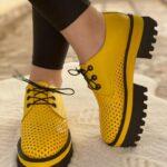 Pantofi Intense Yellow