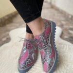 Pantofi Pink Snake